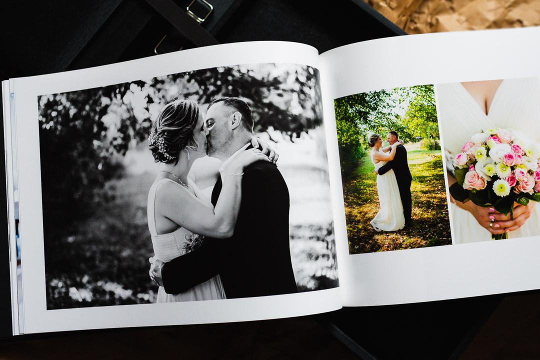 Zdjęcia Pary Młodej w fotoksiążce PRO