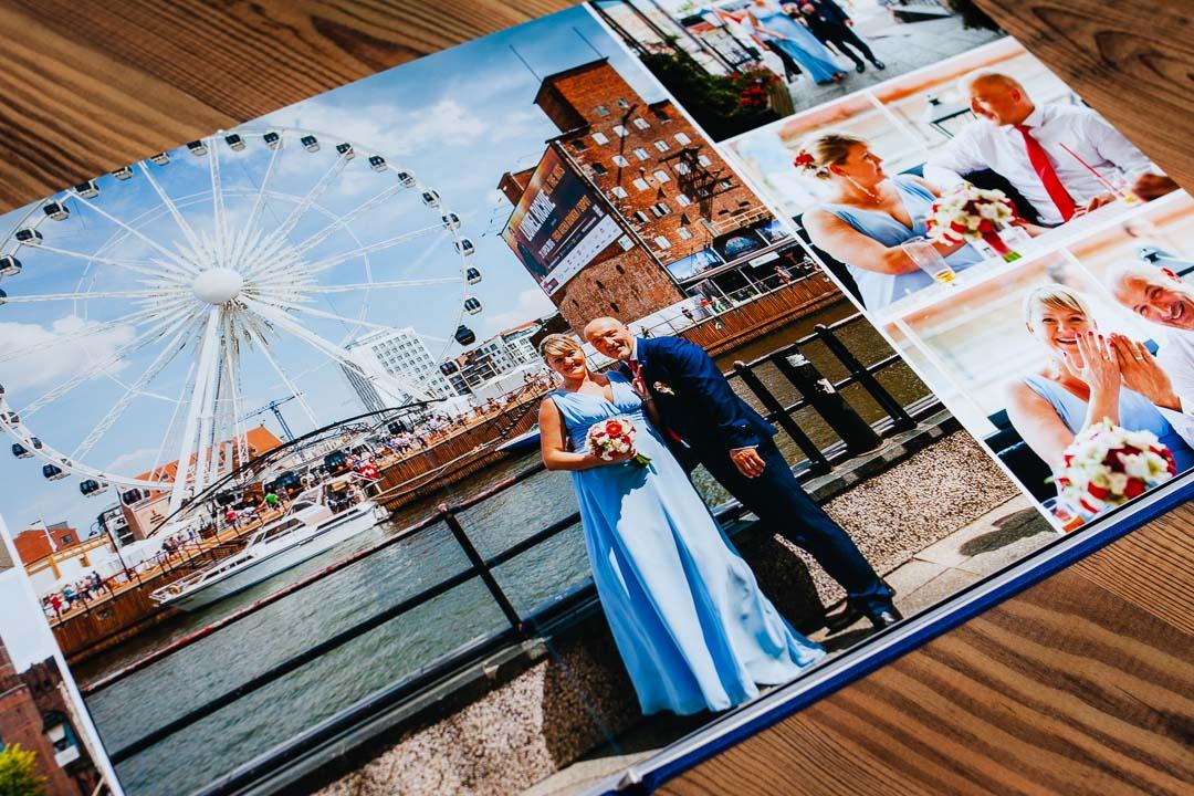 Zdjęcia ślubne z Gdańska w fotoalbumie